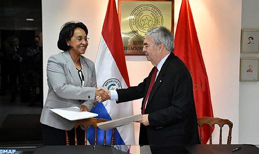 المغرب والباراغواي عازمان على إعطاء دينامية جديدة لعلاقاتهما الثنائية على كافة الأصعدة (بيان مشترك)