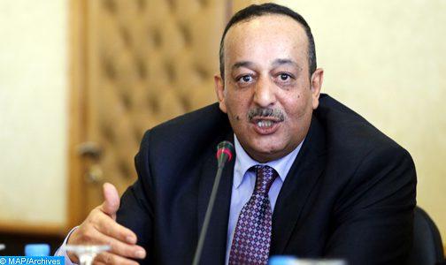 السيد الأعرج يستقبل أعضاء المجلس الوطني للصحافة
