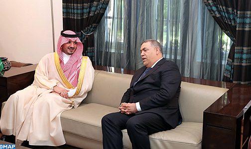 السيد عبد الوافي لفتيت يتباحث بالرباط مع نظيره السعودي