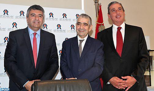 التعاون في مجال حقوق الانسان في صلب مباحثات السيد اليزمي مع رئيس برلمان السوق المشتركة لدول أمريكا الجنوبية