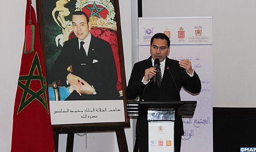 السيد الخلفي: المغرب يمتلك إرادة قوية ليحتل المجتمع المدني مكانا متقدما في إطار استراتيجية محاربة المخدرات