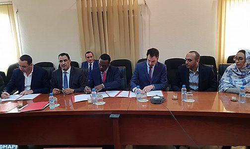 التوقيع بالداخلة على اتفاقية بين فاعلين اقتصاديين مغاربة وكنديين لإنجاز مشروع ثقافي