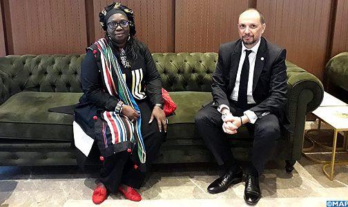 السيد الجزولي يتباحث بدكار مع وزيرة المعادن والجيولوجيا السنغالية