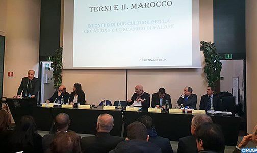 مستثمرون إيطاليون يشيدون بالطفرة الاقتصادية التي يعرفها المغرب تحت القيادة المتبصرة لجلالة الملك