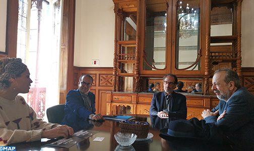 مدير المركز السينمائي المغربي يبحث بجزر الكناري آليات تعميق وتكثيف التعاون في الميدان السينمائي