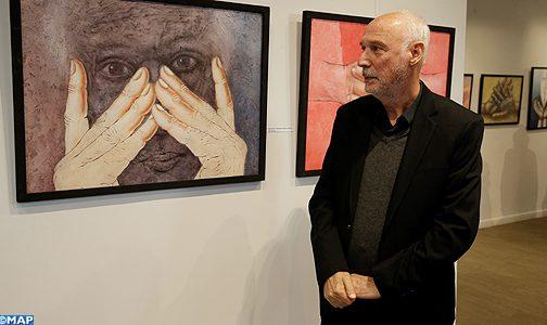 """معرض الفن التشكيلي """"تصويري وأكثر"""" للفنان حميد الدويب"""