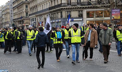 """""""Gilets jaunes"""": 345 interpellations et 281 gardes à vue samedi dernier"""