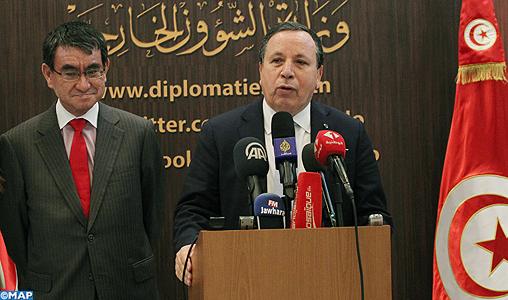 La Commission mixte tuniso-japonaise en février 2019