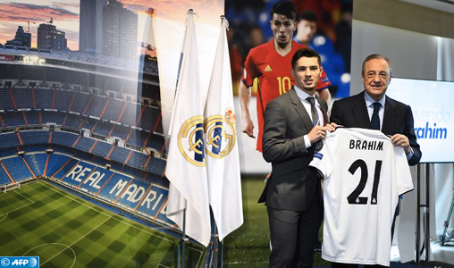 Real Madrid: Brahim Diaz présenté officiellement au Santiago-Bernabeu