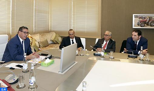Plan Maroc Vert: M. Akhannouch réunit à Rabat les présidents des chambres agricoles