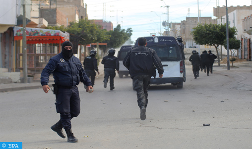 Deux terroristes se font exploser dans la ville tunisienne de Jelma